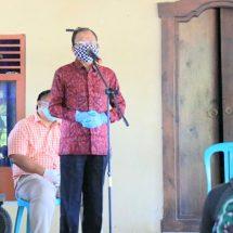 Isolasi Dilanjutkan, Gubernur Koster Gelontor Bantuan bagi Warga Serokadan Bangli
