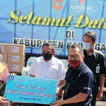 BMPD Bali Bantu Sembako dan APD, Bupati Karangasem: Puluhan Ribu Warga Masih Butuh Bantuan