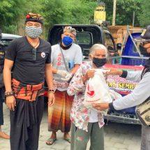 Aliansi Peduli Undisan Bantu Paket Sembako Warga Terdampak Covid-19