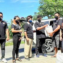 Bantu Warga Terdampak Covid-19, FBN Bali Kembali Salurkan Paket Sembako di Desa Ungasan
