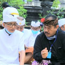Wagub Bali Pimpin Doa Mohon Covid-19 segera Lenyap