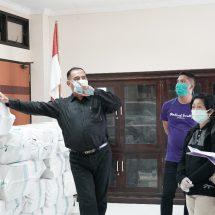 Kemendikbud Bantu Undiksha 10.000 Masker