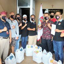 FBN Bali Bantu Paket Sembako dan Masker Warga Terdampak Covid-19