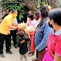 Anggota DPR RI Gus Adhi Bantu Seribu Paket Ikan untuk Ibu Hamil dan Ibu Menyusui