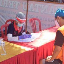Sebelum Diisolasi ke Rutan Bangli, 20 Terpidana Jalani Rapid Tes