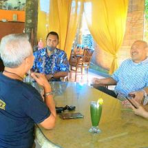 Diskusi Bisnis Kuliner Pak Oles-Kang Zanger, Praktik Lebih Penting dari Teori