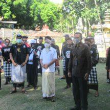 Jagabaya Dulang Mangap-BRI Bantu Pecalang Sembako
