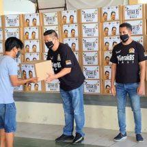Bersama Melawan Covid-19, Gerak BS Bali Kembali Bagikan Sembako