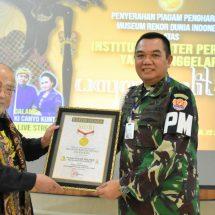 Pementasan Wayang Kulit HUT ke-74 POMAD Raih MURI