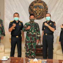 Tingkatkan Kerja Sama, DJBC  Bali-Nusra Silaturahmi ke Kodam Udayana