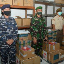 Mabes TNI Dukung 291 Koli Alkes Untuk Operasi Pendisiplinan Protokol Kesehatan di Kodam Udayana