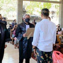 DPC PERADI Denpasar Beri Penghormatan Anggotanya yang  Meninggal