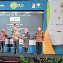 PLN Raih Dua Penghargaan Top CSR Awards 2020