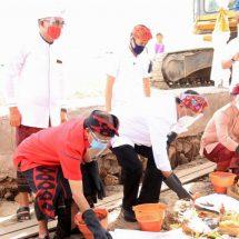 Ground Breaking 2 Pelabuhan di Nusa Penida, Menhub Sampaikan Bali Bangga Punya Wayan Koster