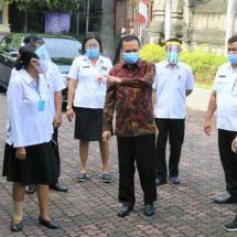 Sekda Dewa Indra Tinjau SMAN 7 Denpasar, Cek Sarana dan Prasarana Sekolah
