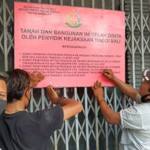 Kejati Bali Sita Aset Tanah Dan Bangunan Mantan Kepala BPN Badung