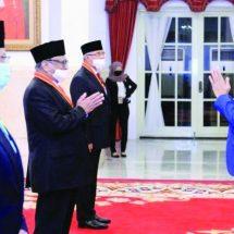 DPD Hanura Bali Bangga, Oesman Sapta Odang Raih Bintang Mahaputera Utama dari Presiden