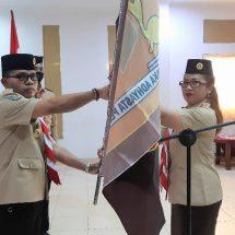 Kawal Pilkada 2020, Kwarda Bali Lantik Pengurus Saka Adhyasta