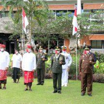 Pangdam Udayana Ikuti Peringatan ke-75 Detik-detik Proklamasi RI