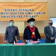 Hakim Tinggi Denpasar Sumpeno Raih Doktor di Trisakti