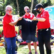 Wagub Cok Ace Minta Anggota BVD Turut Aktif Sosialisasikan Pentingnya Penggunaan Masker