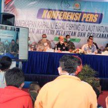 Menteri Kelautan dan Perikanan: 69 Kapal Asing Ditangkap di Perairan Indonesia