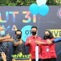 SMAN 7 Denpasar Rayakan HUT Ke-31 Secara Sederhana