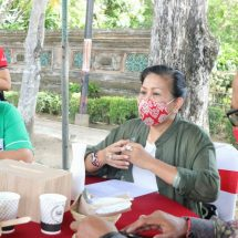 Ny. Putri Koster Gandeng BI Perwakilan Bali Promosikan Bunga Kasna