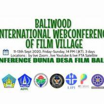 Diikuti 30 Negara, Baliwood International Webconference of Film Village Bersama Baliwood Indonesia dan ITB Stikom Bali