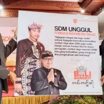 Koordinator Staf Khusus Presiden, Menjadi Pembicara Kunci Dalam Talk Show : Inspiring Talk di STAHN Mpu Kuturan Singaraja