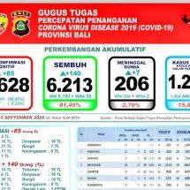 Perkembangan Covid-19 di Bali, Pasien Meninggal Tembus 200 Lebih