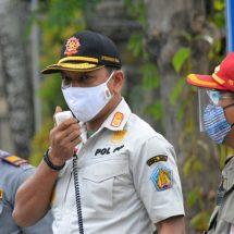 Pemprov Bali Gelar Razia Gabungan Penertiban Prokes Covid-19