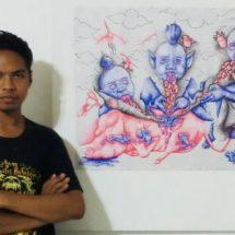 Masa Pandemi, Karya Artistik Mahasiswa Undiksha Tembus di Pameran Seni Jerman dan Prancis