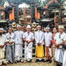 Inginkan Perubahan Untuk Kota Denpasar, Bagus Kertanegara Minta Doa Restu ke Ida Pandhita