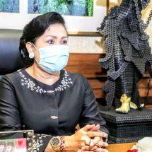 Ketua Dekranasda Bali Ikuti Pembukaan Karya Kreatif Indonesia (KKI) 2020 Seri II