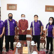 Terkait UU Cipta Kerja, Gubernur Koster Terima Aspirasi Pengurus FSP Par-SPSI Bali
