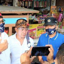 Pedagang Dukung Amerta Pimpin Kota Denpasar