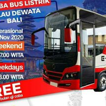Pemprov Bali Uji Coba Angkutan Bus Listrik ke Objek Wisata