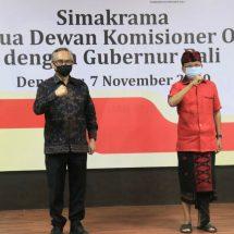 Bahas Pemulihan Ekonomi Bali, Gubernur Koster Bertemu Ketua Dewan Komisioner OJK