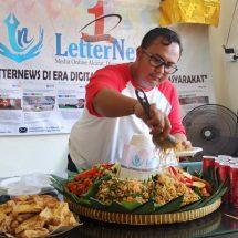 Peringati HUT Ke-1, Media Online Letternews Gelar Syukuran dan Doa Bersama
