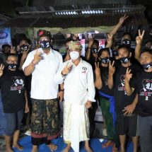 Milenial Makin Solid Menangkan Paslon Amerta di Pilkada Kota Denpasar