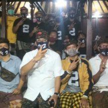 Pilkada Denpasar, Relawan Sanur Kaja Pastikan Coblos Paslon AMERTA Untuk Perubahan