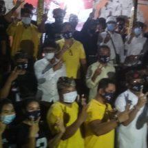 Milenial Padangsambian dan Pemogan Bulat Menangkan Paslon Amerta Pimpin Denpasar