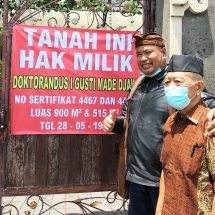 Kisruh Pemilik Lahan Dengan Yayasan, SMA PGRI 2 Disegel