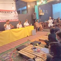 Majukan Denpasar, Paslon Amerta Dorong Anak Muda Jangan Ragu Menyampaikan Ide