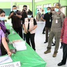 Monitoring TPS di Denpasar, Bangli dan Karangasem, Gubernur Koster: Bali Siap Laksanakan Pilkada Serentak