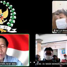 Penyerapan Aspirasi Dr. Mangku Pastika, Terdampak Covid, Petani Mulai Kesulitan Permodalan