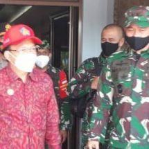 Dampingi Gubernur Bali, Pangdam Udayana Tinjau Pengamanan Nataru di Pelabuhan ASDP Gilimanuk