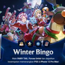 Menangkan PS5 dan iPhone 12 Pro Max GRATIS dengan Main FAIRY TAIL: Forces Unite!