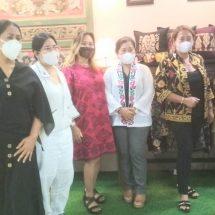 Kunjungi Pameran UMKM, Diah Werdhi Srikandi Puji Kualitas Produk Lokal